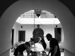 SOMA residency en images – Marrakech – Septembre 2017 © Bertrand Wolff