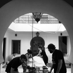 SOMA residency en images – Marrakech – Septembre 2017 © Bertrand Wolff
