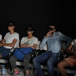 SOMA – Expérience audio-tactile /  workshop ESAV, Marrakech – Septembre 2017