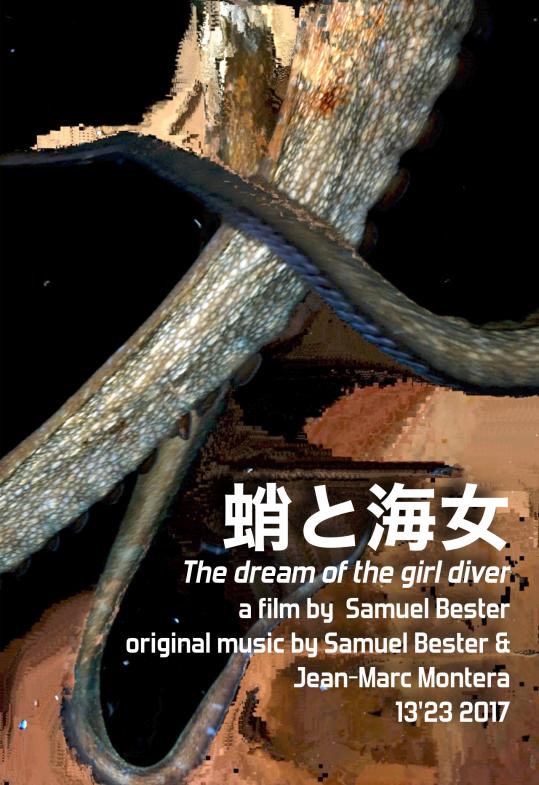 The dream of the girl diver, Samuel Bester, POSTER
